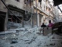 Syria: Không kích dữ dội tại Aleppo sau lệnh ngừng bắn