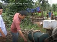 Tây Nguyên 'khát' nước giữa mùa mưa, người dân đua nhau khoan giếng