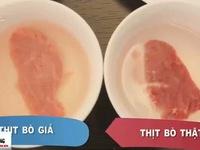 Người dân từng ngày bị lừa ăn thịt bò được nhuộm đỏ từ... thịt lợn