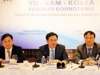 Hội nghị bàn tròn về hợp tác kinh doanh Việt Nam - Hàn Quốc