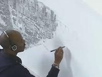 Họa sỹ vẽ lại toàn cảnh thành phố Mexico bằng trí nhớ
