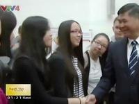 Tiếng Việt được giảng dạy tại trường chuyên Barnim Gymnasium - Đức