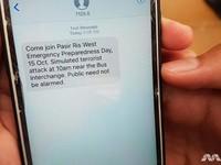 Singapore ra mắt hệ thống tin nhắn SMS cảnh báo khủng bố