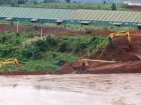 Đã khắc phục sự cố vỡ đường ống nước tại nhà máy Alumin Tân Rai