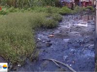 TP.HCM: Hàng chục cơ sở giặt tẩy xả thải trực tiếp ra môi trường