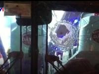 Xác định 2 nghi phạm ném đá xe khách tại Lâm Đồng