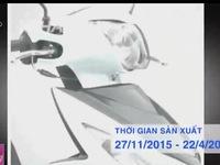 Suzuki triệu hồi 639 xe Address 110 tại Việt Nam