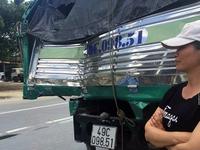 Ly kỳ màn xe tải cứu xe khách đứt phanh đổ đèo