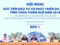 Xúc tiến đầu tư và phát triển du lịch Thừa Thiên Huế 2016