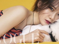 Ngất ngây với ảnh của YoonA (SNSD) trên tạp chí Vogue