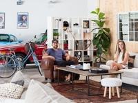 Độc đáo garage được 'hô biến' thành nhà ở siêu đẹp