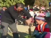 Sôi nổi ngày hội văn hóa dân tộc Mông ở Hà Giang
