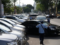TP.HCM thí điểm thu phí đậu xe xe 4 phân phốih qua tel