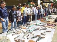 Colombia: FARC hoàn thành giao nộp 60 vũ khí đúng thời hạn
