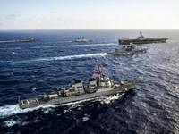 Nhật Bản, Mỹ, Ấn Độ tập trận chung ở Ấn Độ Dương