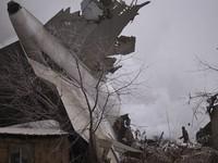 Kyrgyzstan tiến hành xác định nguyên nhân vụ rơi máy bay Thổ Nhĩ Kỳ