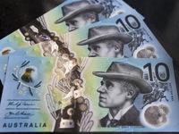 Australia công bố tờ tiền mệnh giá 10 dollar mới