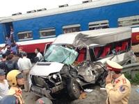 Tai nạn đường sắt ở Nam Định: Lái xe quay đầu tại đường ngang