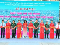 TP.HCM tổ chức nhiều hoạt động kỷ niệm 127 năm ngày sinh Bác Hồ