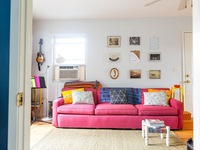 Thích thú với những sắc màu tươi trẻ trong căn hộ hơn 60m2