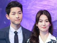 Song Joong Ki khiến fan 'chết ngất' với câu nói lãng mạn về Song Hye Kyo