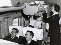 Cách bố trí chỗ cho trẻ em trên máy bay hơn 60 năm trước