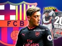 Chuyển nhượng bóng đá quốc tế ngày 27/12/2017: Mesut Ozil là người mà HLV Ernesto Valverde muốn đem về Barcelona nhất