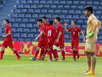 TRỰC TIẾP BÓNG ĐÁ, U23 Thái Lan 0-2 U23 Việt Nam: Hết hiệp một