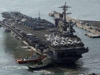 Tàu sân bay Mỹ tham gia tập trận với Hàn Quốc