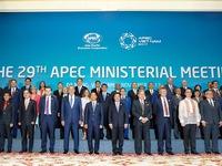 Kết thúc ngày 1 Hội nghị liên Bộ trưởng Ngoại giao – Kinh tế APEC lần thứ 29