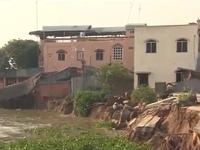 An Giang: Dự án tái định cư chậm tiến độ, dân trở lại vùng sạt lở