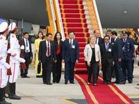 Quốc vương Brunei tự lái chuyên cơ tới Đà Nẵng dự APEC 2017
