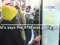 Máy ATM chỉ để rút… đồ ăn