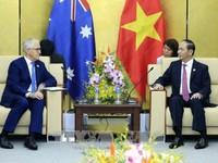 Chủ tịch nước cảm ơn Australia hỗ trợ Việt Nam tổ chức Năm APEC 2017