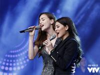 Khoe giọng hát, BTV Ngọc Trinh tự tin song ca cùng Hồ Ngọc Hà