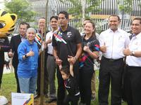 Chủ nhà Malaysia 'phủ xanh' SEA Games 29 bằng chiến dịch trồng cây độc đáo