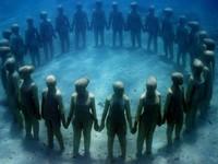 Bảo tàng điêu khắc dưới nước đầu tiên tại châu Âu