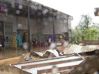 Bão số 12 đổ bộ Đăk Lăk, 200 ngôi nhà bị tốc mái