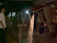 Ứng phó bão số 12, Ninh Thuận di dời dân trong đêm