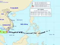 Bão số 16 suy yếu thành áp thấp nhiệt đới
