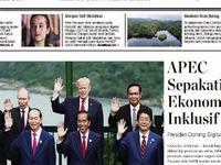 Báo chí quốc tế nói về thành công của APEC