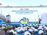 Mít tinh hưởng ứng Tuần lễ Biển và Hải đảo Việt Nam 2017