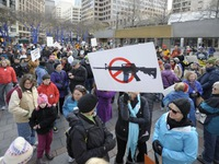 Biểu tình phản đối bạo lực súng đạn ở Mỹ