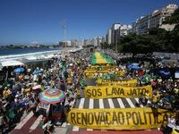 Biểu tình lớn chống tham nhũng tại Brazil