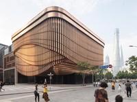 Tòa nhà tự thay đổi hình dáng mỗi giờ ở Trung Quốc