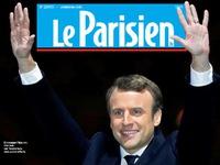 Chiến thắng của tân Tổng thống Pháp tràn ngập trang nhất báo chí châu Âu