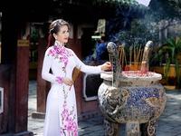 Áo dài Việt khoe sắc tại Nhật Bản