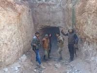 Phát hiện đường hầm IS từng sử dụng tại Syria