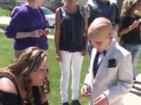 Chuyến dã ngoại đặc biệt dành cho cậu bé ung thư