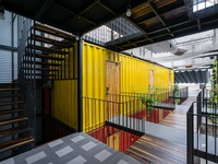 Thú vị khách sạn container đầu tiên tại Nha Trang